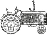 Plat Beroi - Tracteur